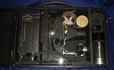 RK072 Vtg SVE Society For Visual Education Tri-Purpose Projector Model AAA