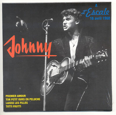 JOHNNY HALLYDAY.  45T Ep ' A l'Escale 16 avril 1960 ' Premier amour. ROCK'N'ROLL