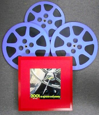 Super 8 Feature Film Movie~2001: a space odyssey(1968)~139 Minutes