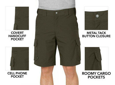 """Dickies LR704 10"""" Relaxed Fit Stretch Ripstop / Poly Cotton Shorts"""
