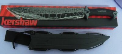 Kershaw Knife 1076 Camp 14 Machete Outdoor Brush Clearing 65Mn Steel New!!!