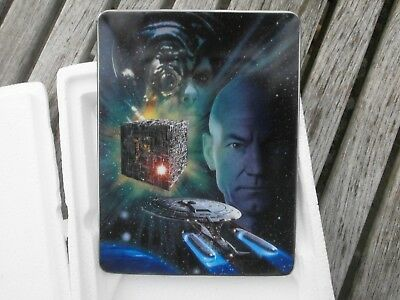 Battle Of The Borg Star Trek Collector Plate 1998 The Hamilton Collection