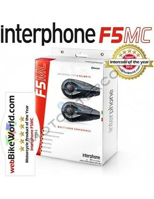 RXAU F5MC Twin Pack Interphone Cellularline F5 MC