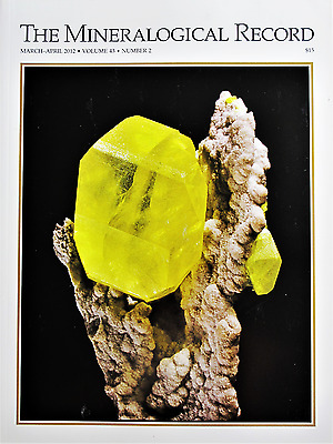 Sicilian Sulfur Deposits Thumbnail Collecting The Mineralogical Record V 43 2012