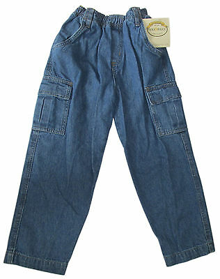 Wes & Willy Elastic Waist Denim Jeans Boy 4T NWT