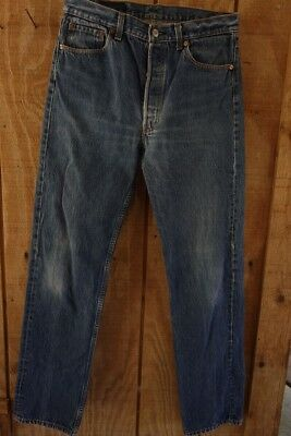 Vintage Denim Levis 501 Jeans 34 x 36 Made in USA 1990's