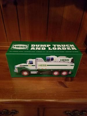 2017 Hess Dump Truck  & Loader Toy Energizer ® Batteries Included NIB In stock!