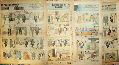 BRINGING UP FATHER by George McManus, 15 Sunday pages from 11918-19 FIRST YEAR