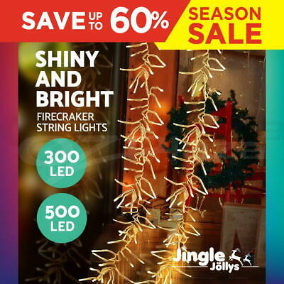 LED Christmas String Lights Fairy Party Wedding Outdoor Garden Warm White