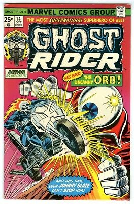 Ghost Rider #14 (1975) Fine Original Owner Marvel Comics Collection