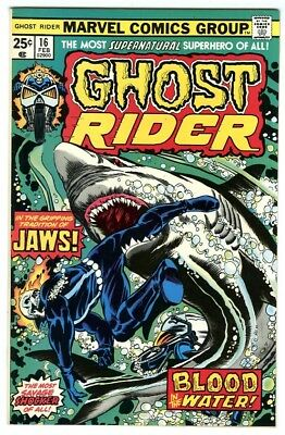 Ghost Rider #16 (1976) NM- Original Owner Marvel Comics Collection