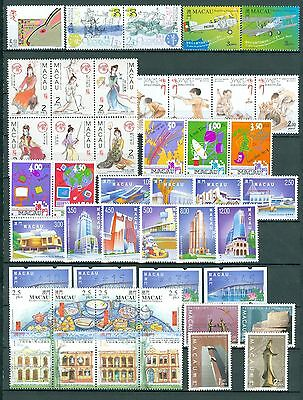 Macao/macau 1999 Stamp Year Set With 12 Souvenir Sheets Complete Mnh Very Fine