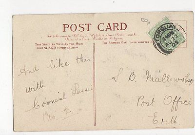 S B Mallows Post Office Erith 1905 0838