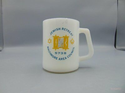 Vintage Boy Scouts of America BSA Jewish Retreat Baltimore Area Council 5738 Mug