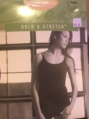 HOLD & STRETCH FOOTED TIGHT by CAPEZIO (#14) M, L, XL, XXL BLK or Pink