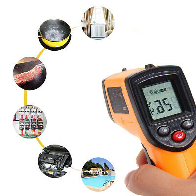 Non-Contact IR LASER TEMPERATURE GUN Infrared Digital Temp Thermometer Handheld