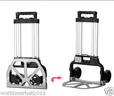 New Convenient High-Quality Two Wheels Collapsible Shopping Luggage Trolleys