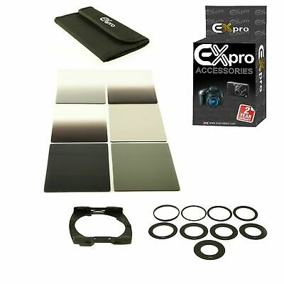 Ex-Pro 6 Square G.ND2 4 8 Filter set  49 - 82mm - for Cokin P-Series holder LF6