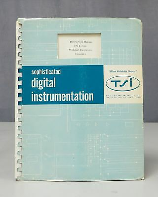 Transistor Specialties TSI 500 Series Electronic Counters Instruction Manual
