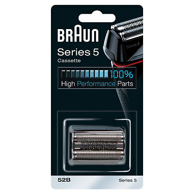 Braun 52B Series 5 Electric Shaver Replacement Foil and Cassette Cartridge New