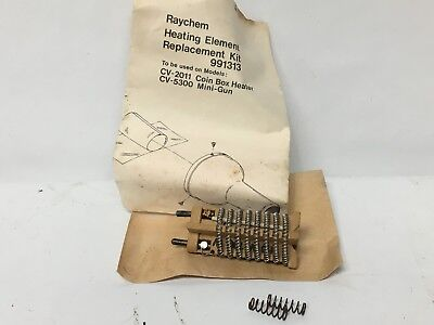Raychem 991313 Heating Element Replacement Kit CV-2011 Coin Box Heater CV-5300