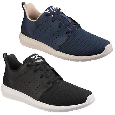 Skechers Foreflex Trainers Mens Lace Up Sport Workout Training Sneakers