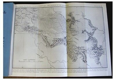 1926 Younghusband  SHAKSGAM VALLEY  Explorations  WITH LARGE MAP  Karakoram - 9