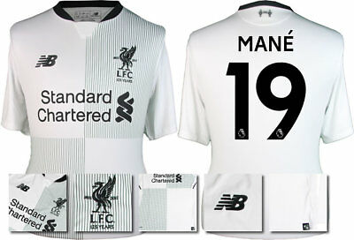 5501b35edfc 17 18 - New Balance  Liverpool Away Shirt Ss   Mane 19   Kids