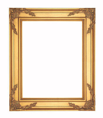 Brand New Picture Frame-16x20 Vintage Antique Style Ornate Gold Bronze Baroque