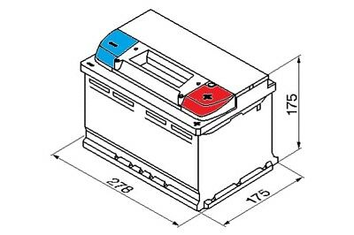 Audi Q5 8R 2013-2016 Bosch S4 Battery 60Ah Electrical System Replacement Part