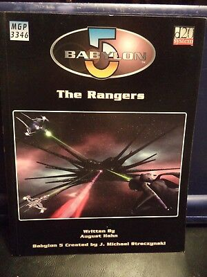Babylon 5 RPG Game Source Book - The Rangers (Mongoose, 2003)