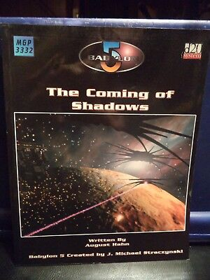 Babylon 5 RPG Game Source Book-The Coming of Shadows (Mongoose Publishing, 2003)