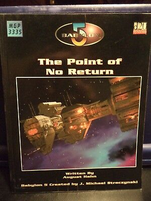 Babylon 5 RPG Game Source Book-The Point of No Return (Mongoose Publishing,2003)
