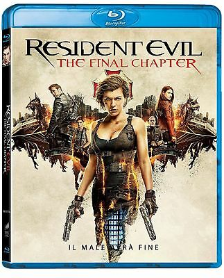 Blu Ray RESIDENT EVIL - The Final Chapter (2016) ***Contenuti Speciali***..NUOVO