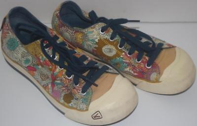 Keen Women's Shoes Sneakers Lace Up Floral Size 8 FREE SHIPPING!