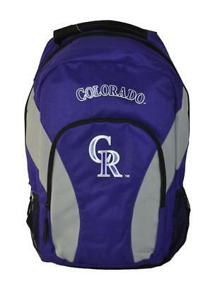 MLB Colorado Rockies Draft Day Team Backpack 18 inch