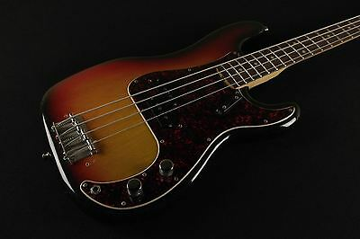 Fender Precision Bass VINTAGE 1976 AMAZING CONDITION 3 tone sunburst USED