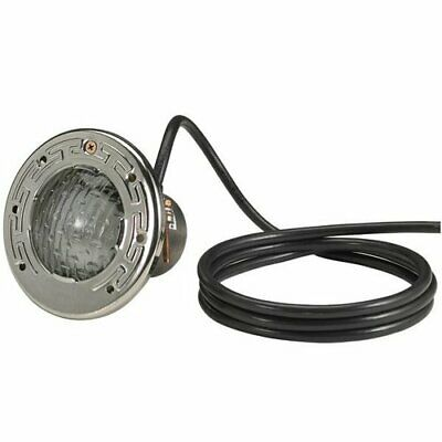 Pentair 78107500 SpaBrite Spa Light; 12V, 100W, 100' Cord; Stainless Steel Face