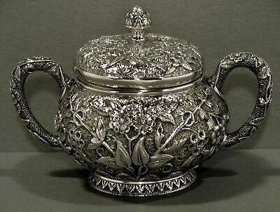 F.A. Durgin Sterling Silver  Bowl      c1860  St. Louis        *Hand Crafted*