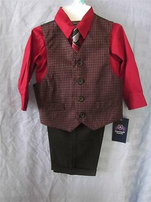 INFANT BABY BOYS SUIT NWT SZ 12 MONTHS weddings holidays