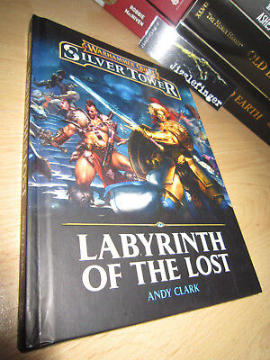 SIGNED Andy Clark LABYRINTH OF THE LOST 1st/HB Warhammer Quest Silver Tower AOS