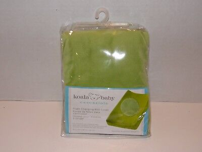 Koala Baby Essentials Plush Changing Pad Cover Green Brand New Sealed! FAST SHIP