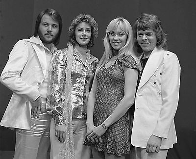 "Abba 10"" x 8"" Photograph no 3"