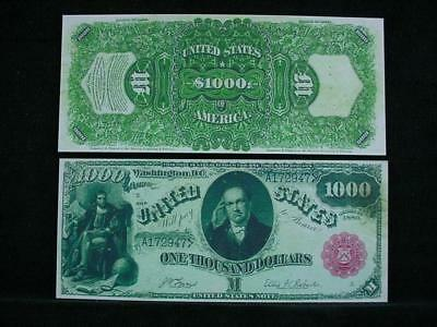 NobleSpirit NO RESERVE {3970} ABN Archive $1,000 Uniface Trial Proof Series 1880