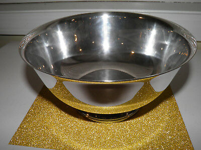 Vintage International Footed Silverplate Bowl - Webster Wilcox 336/8