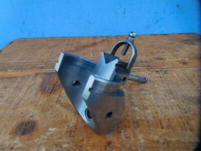 Precision Toolmakers  Fixture Sliding V Block With Clamp Adjusting Hardened