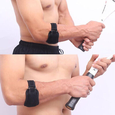 Golf Tennis Elbow Support Compression Brace Strap Band Forearm Protector Pad