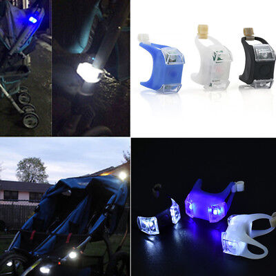Led Night Silicone Caution Light Lamp New For Baby Stroller Night Out Safety U