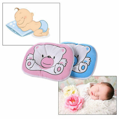 Bear Pattern Pillow Newborn Support Cushion Pad Prevent Flat Head - Two color