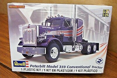 Revell Peterbilt 359 Conventional Tractor 1/25 Scale Model Kit
